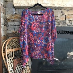 Chico's coverup women's size S/M